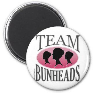 Equipo Bunheads (personalizable) Imán Redondo 5 Cm