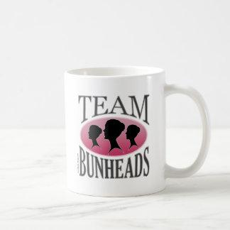 Equipo Bunheads (personalizable) Taza Básica Blanca