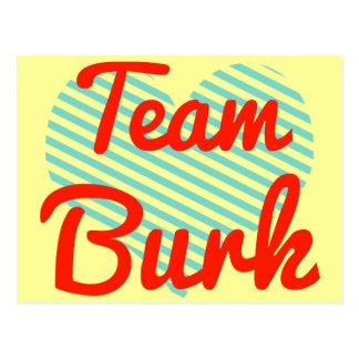 Equipo Burk Postales