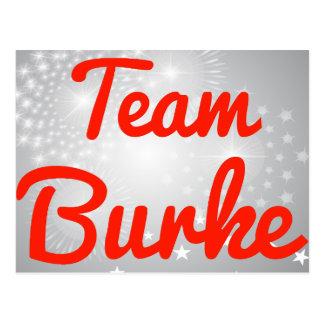 Equipo Burke Postales