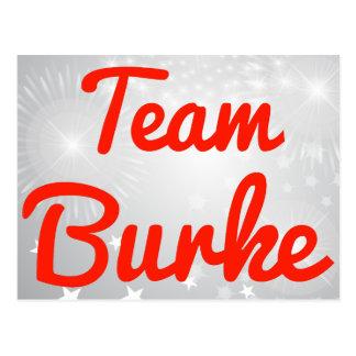 Equipo Burke Tarjetas Postales
