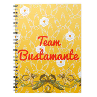 Equipo Bustamante Spiral Notebooks
