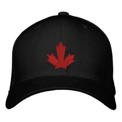 Equipo Canadá Gorra De Béisbol Bordada