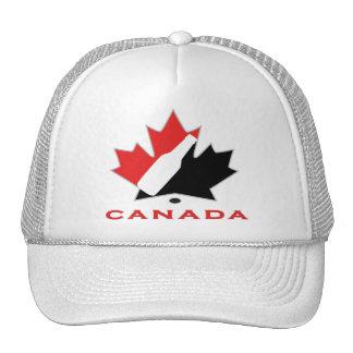 Equipo canadiense de la cerveza gorras