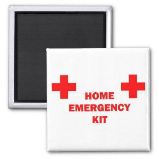 Equipo casero de la emergencia imán cuadrado