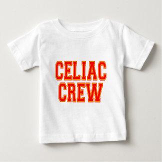 Equipo celiaco playera de bebé