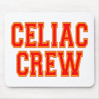 Equipo celiaco tapete de ratón