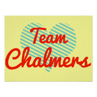 Equipo Chalmers Poster