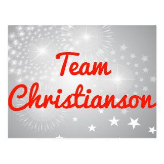 Equipo Christianson Postal
