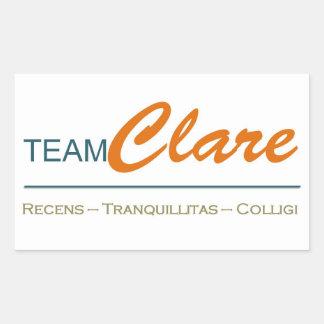 Equipo Clare - pegatinas