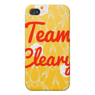 Equipo Cleary iPhone 4 Carcasas