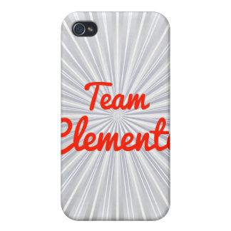 Equipo Clemente iPhone 4/4S Fundas