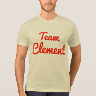 Equipo clemente camisetas