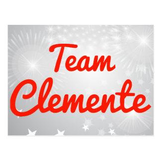 Equipo Clemente Tarjetas Postales