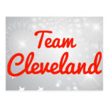 Equipo Cleveland Postal