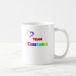 ¡Equipo Constance! Taza
