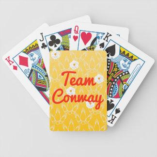 Equipo Conway Baraja Cartas De Poker