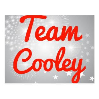 Equipo Cooley Tarjeta Postal