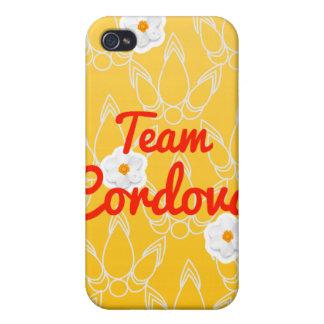 Equipo Cordova iPhone 4 Carcasas