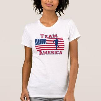Equipo corriente América de la bandera americana
