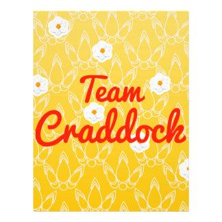 Equipo Craddock Flyer A Todo Color