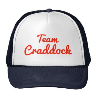 Equipo Craddock Gorras