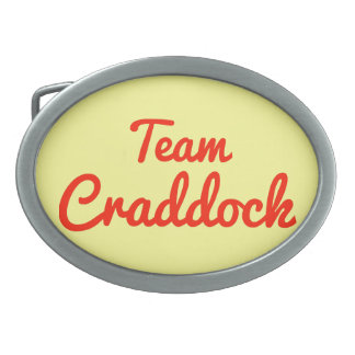 Equipo Craddock Hebillas De Cinturon