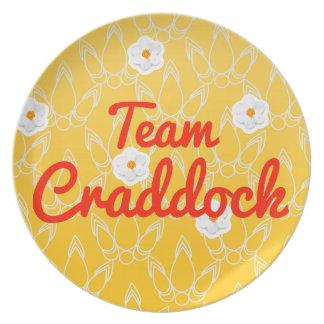 Equipo Craddock Platos Para Fiestas