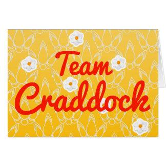 Equipo Craddock Felicitación