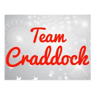 Equipo Craddock Postales