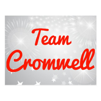 Equipo Cromwell Postales