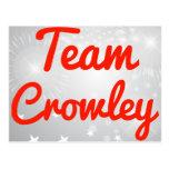 Equipo Crowley Postal