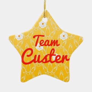 Equipo Custer Adorno De Cerámica En Forma De Estrella