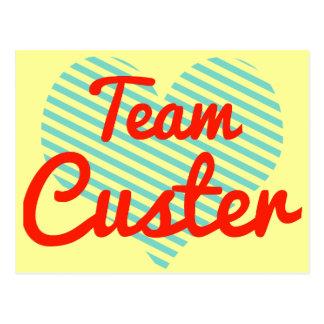 Equipo Custer Tarjetas Postales