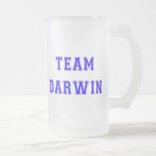 Equipo Darwin (azul) Tazas De Café