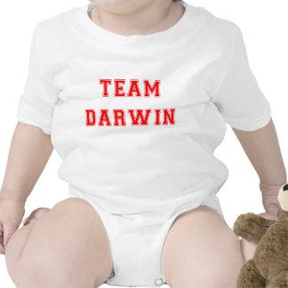 Equipo Darwin (rojo) Traje De Bebé