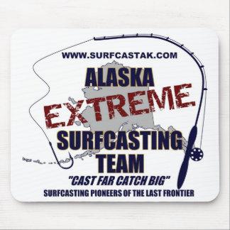 Equipo de Alaska Surfcasting Tapetes De Ratones