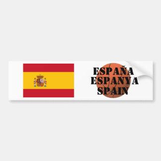 Equipo de baloncesto de España Pegatina Para Auto