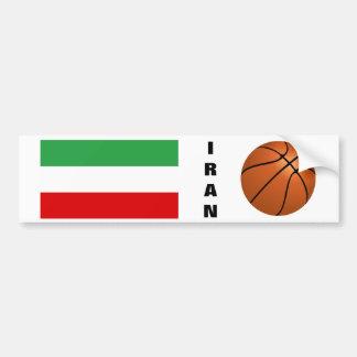 Equipo de baloncesto nacional de Irán Pegatina Para Auto