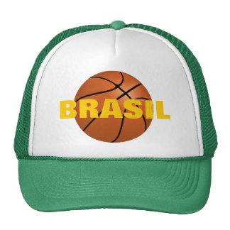 Equipo de baloncesto nacional del Brasil Gorros Bordados