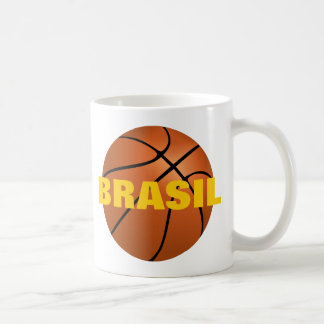 Equipo de baloncesto nacional del Brasil Taza De Café