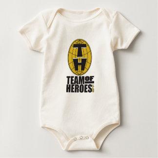Equipo de bebé oficial Stylins de los héroes Enteritos