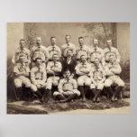 Equipo de béisbol de Brooklyn, 1889 Posters