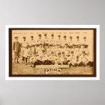 Equipo de béisbol de Cleveland 1913 Posters