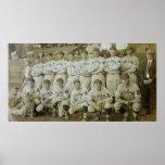 Equipo de béisbol de los indios de Spokane Posters