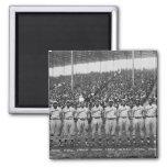 Equipo de béisbol de los monarcas de Kansas City Imán Cuadrado
