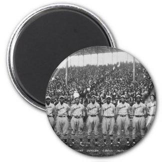 Equipo de béisbol de los monarcas de Kansas City Imán Para Frigorifico