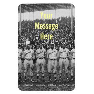 Equipo de béisbol de los monarcas de Kansas City Iman Flexible