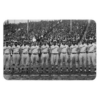 Equipo de béisbol de los monarcas de Kansas City Imán Rectangular