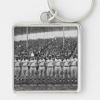Equipo de béisbol de los monarcas de Kansas City Llavero Personalizado